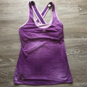 ADIDAS Climalite Workout Tank with built in Bra
